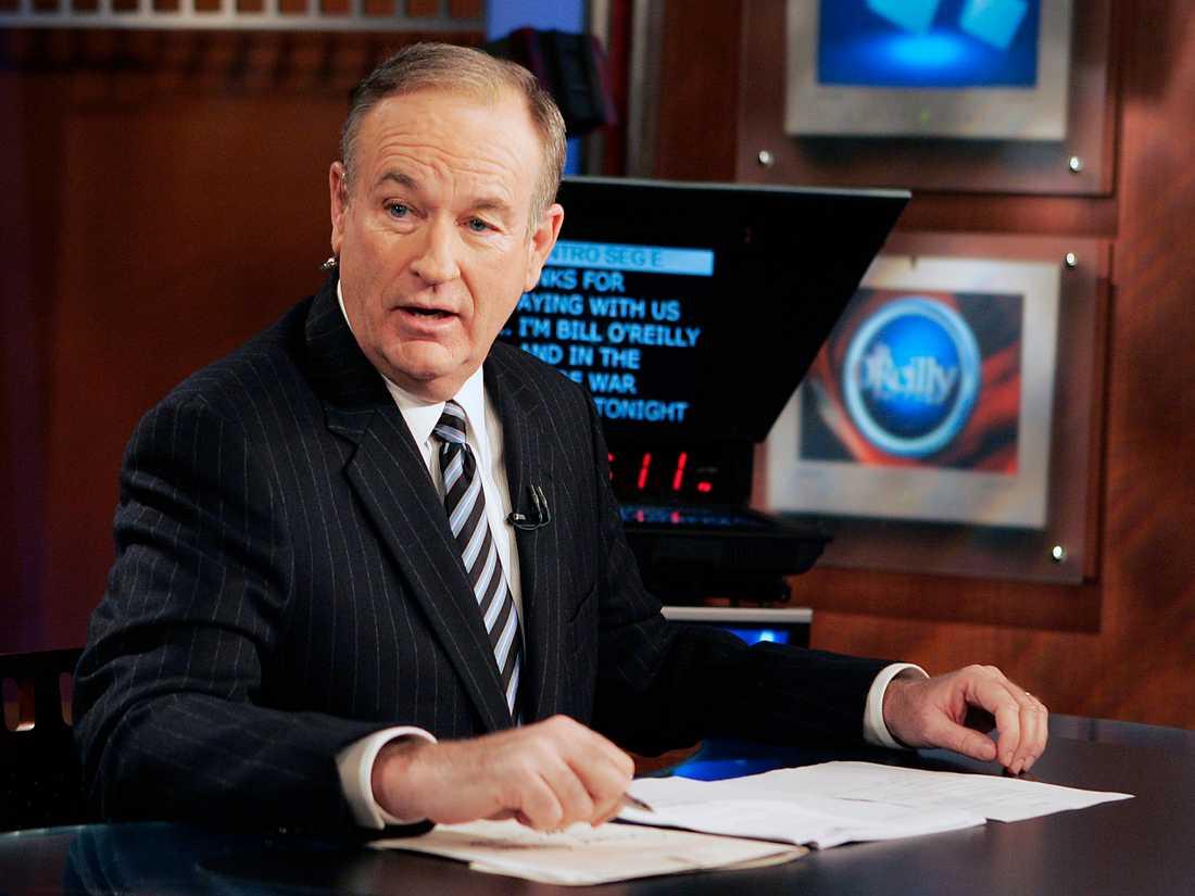 Bill O'Reilly i Foxstudion.