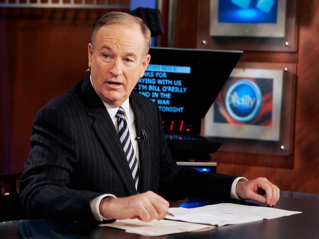 Bill O'Reilly i Foxstudion.