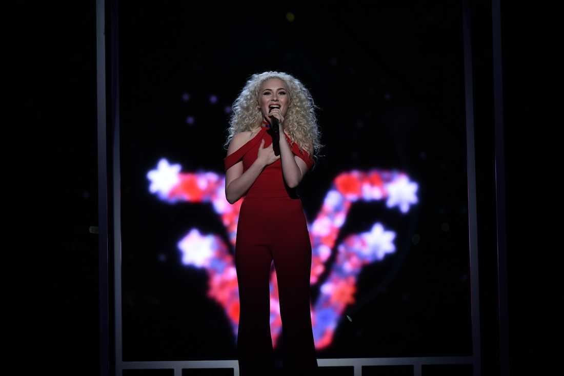 Wiktoria i Melodifestivalens final