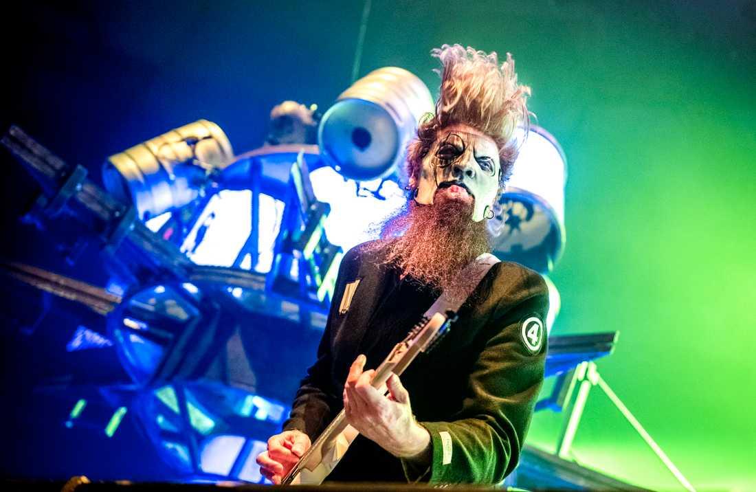 Slipknot spelade inför ett utsålt Globen.