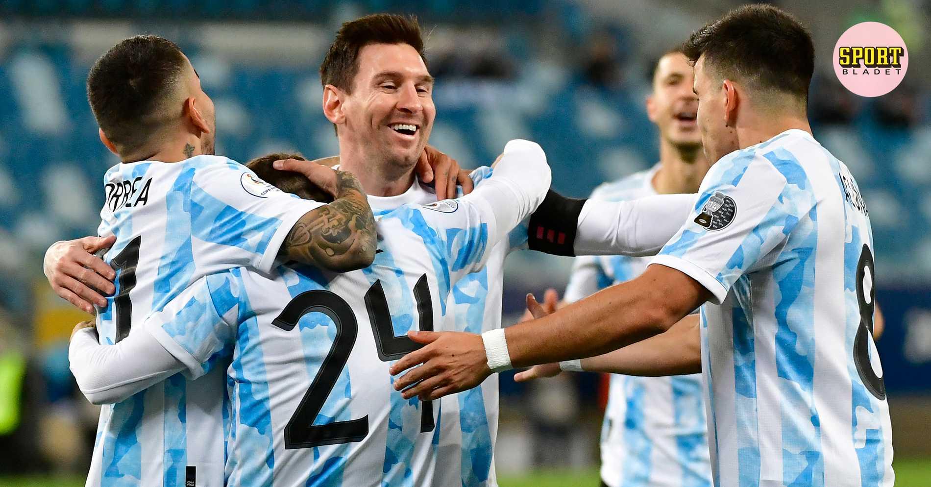 Messis show i rekordmatchen – dubbla mål