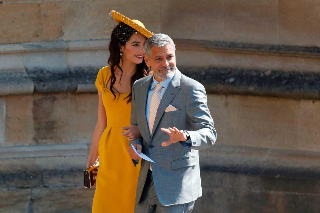George och Amal Clooney