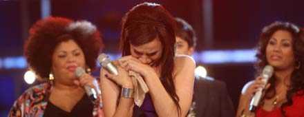 Yasmina klarade inte av att sjunga med de andra Idolerna efter att hon åkt ut.