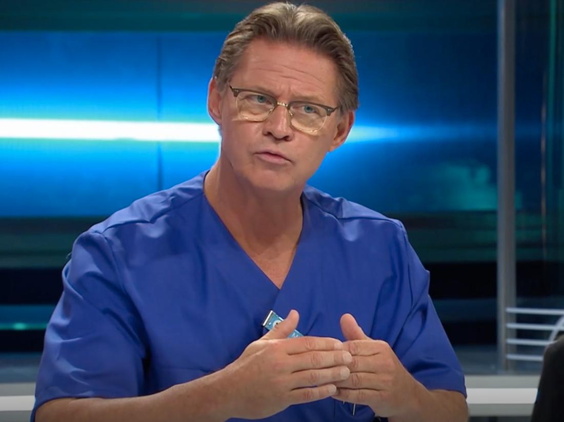 """Mikael """"Soldoktorn"""" Sandström."""