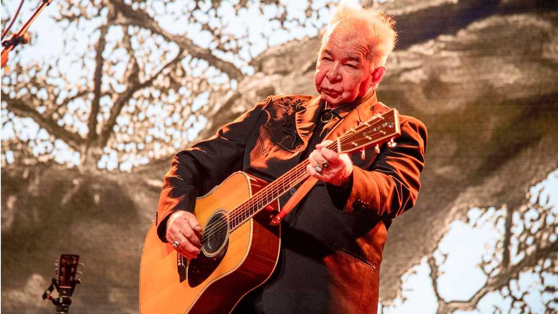 John Prine på Bonnaroo-festivalen i Manchester, Tennessee i fjol.