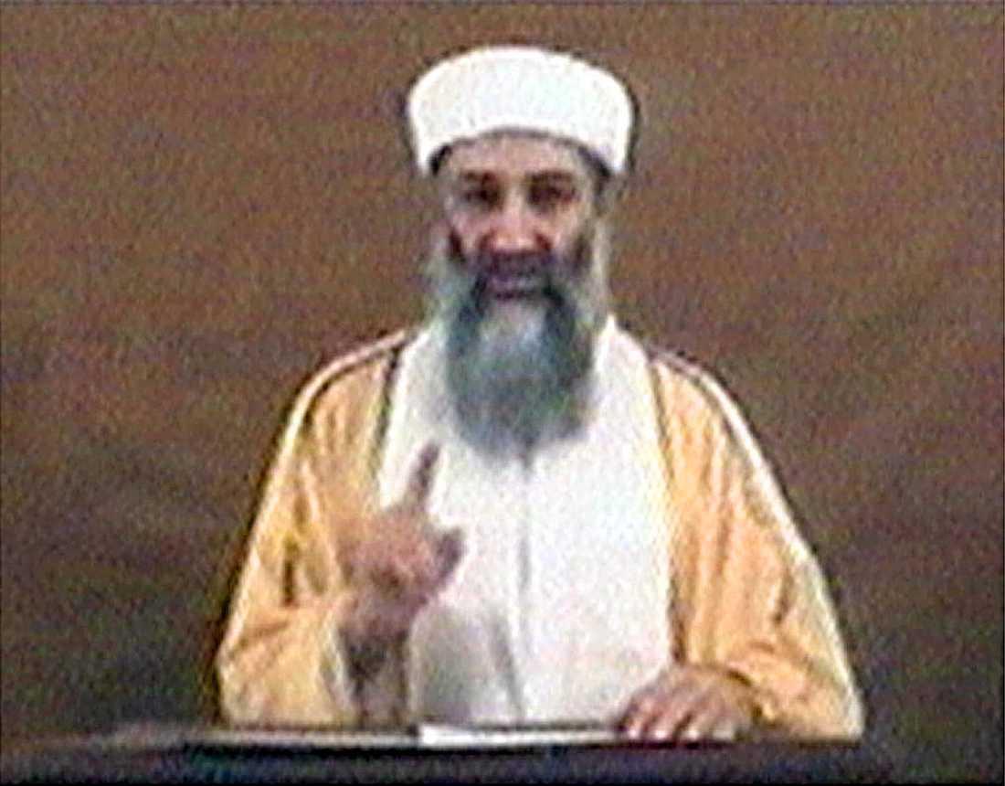 Usama bin Ladin.