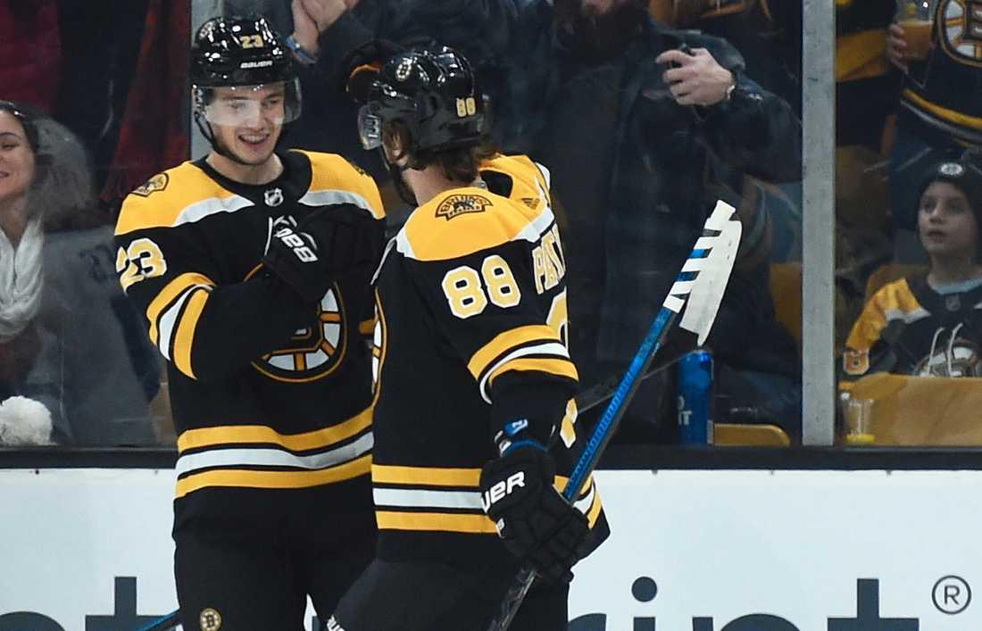Jakob Forsbacka-Karlsson slog till för sitt Boston
