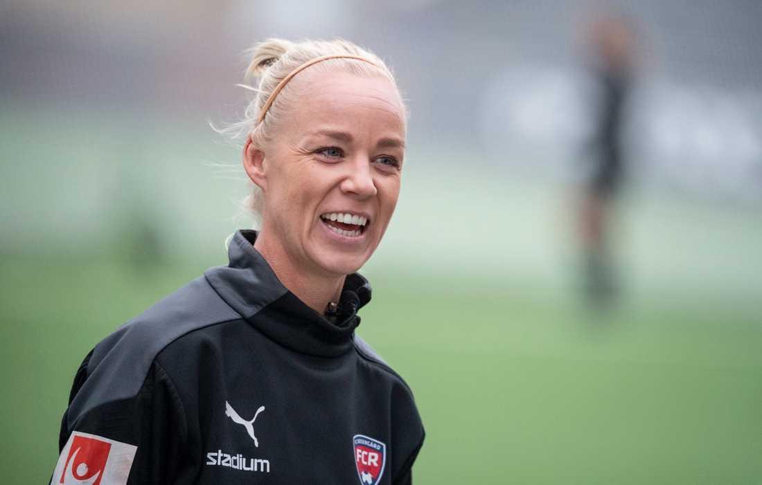 Caroline Seger siktar högt inför OS-året 2021. Arkivbild.