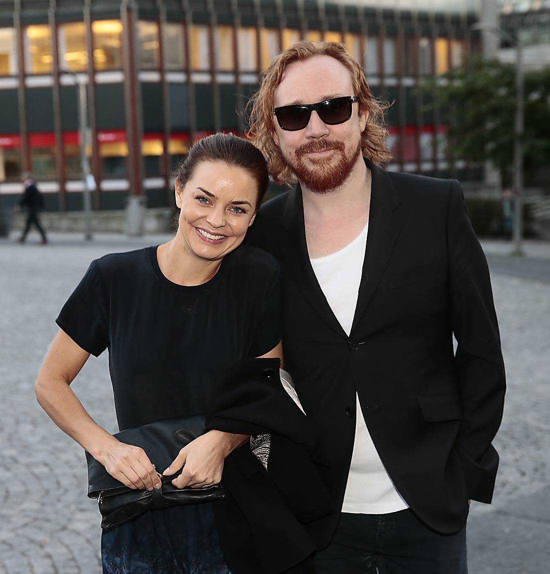 Lars Winnerbäck och norska flickvännen Agnes Kittelsen.