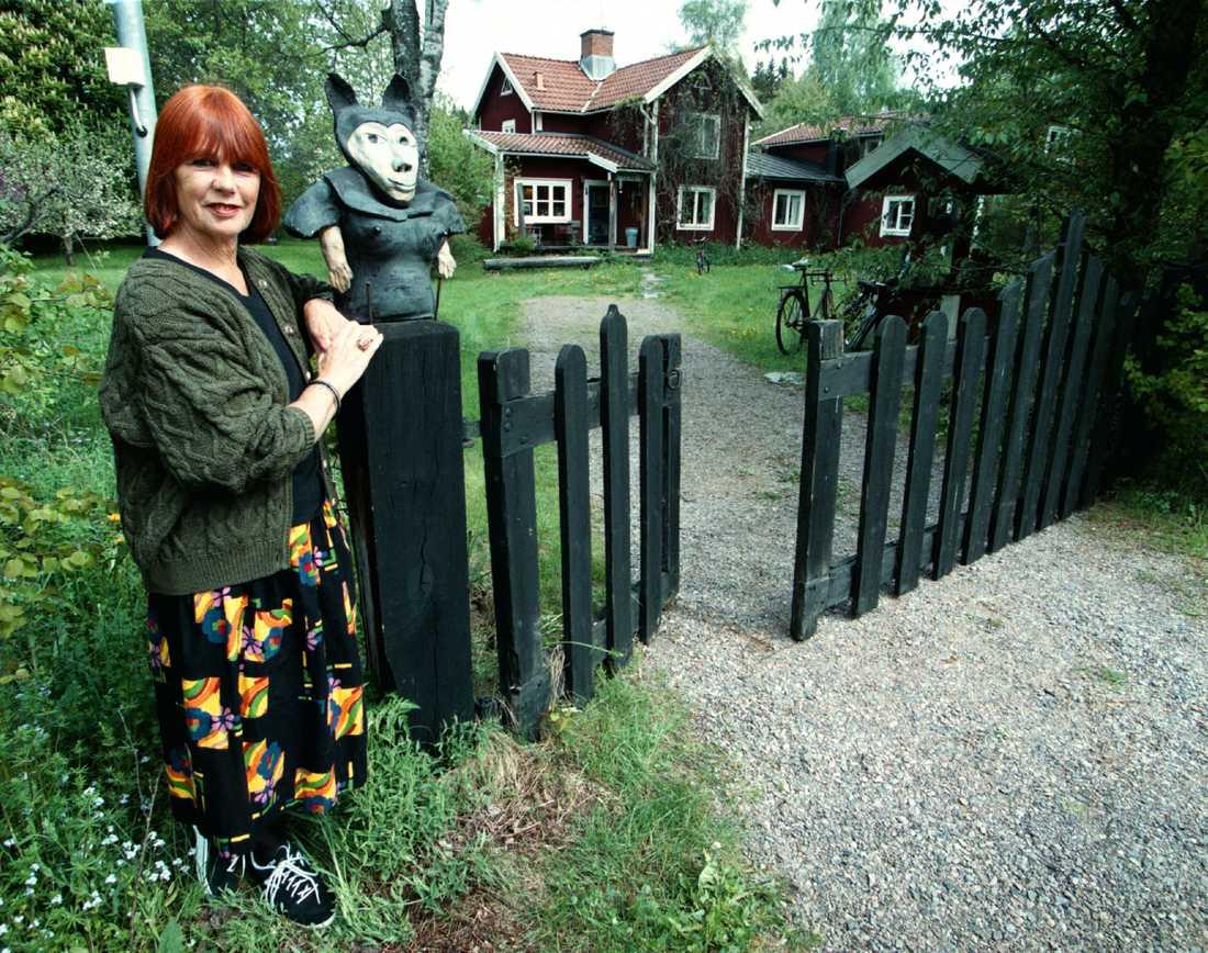 Vid hemmet i Småland.