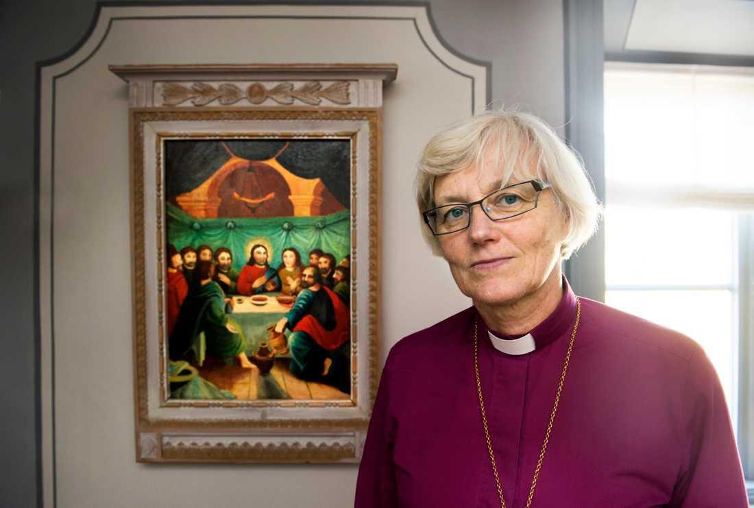 Ärkebiskop Antje Jackelén lämnade Twitter på annandag påsk. Arkivbild.