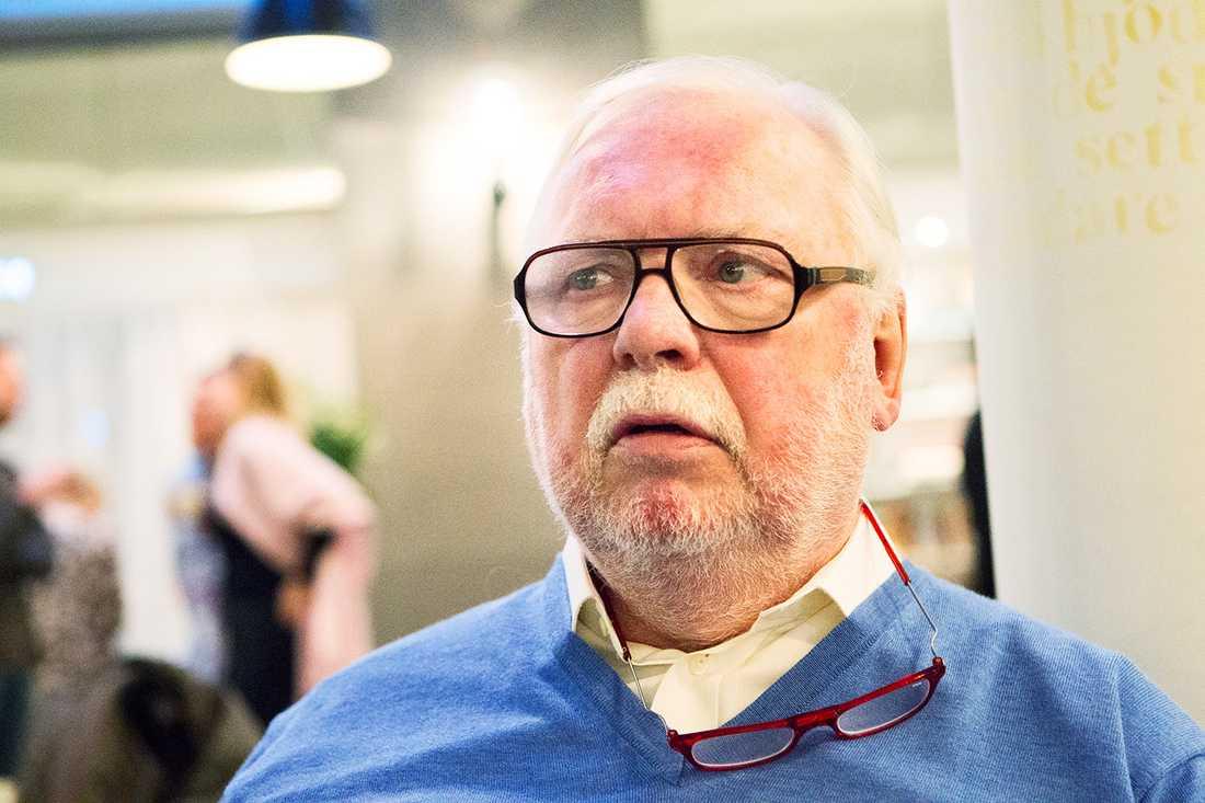 Sitter kvar Leif Mannerström får förnyat förtroende även i nya säsongen.