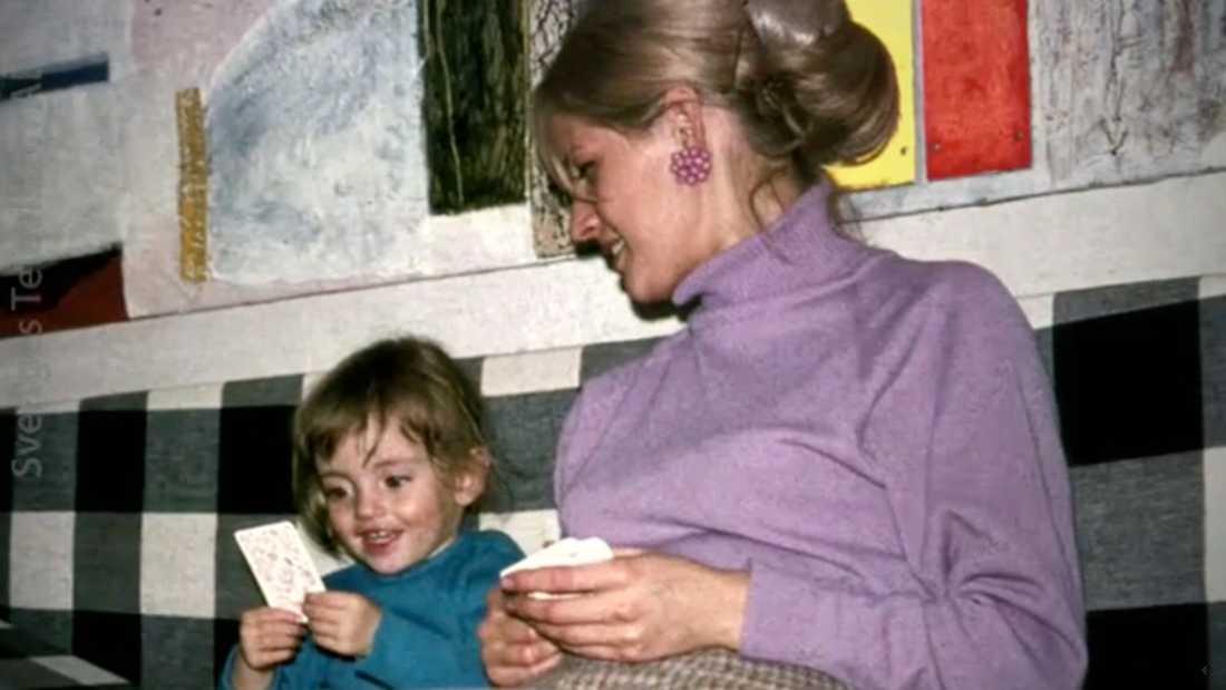 Amanda och mamman,