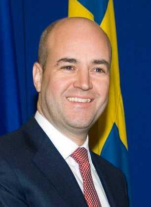 Statsminister Fredrik Reinfeldt (M).