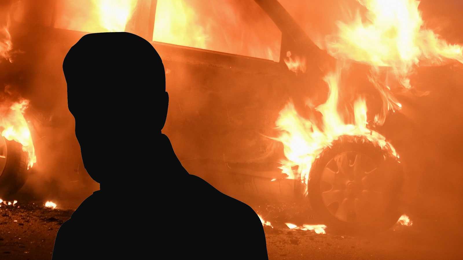 Anmälde bilbränder till polisen – då eldades hans egen bil upp