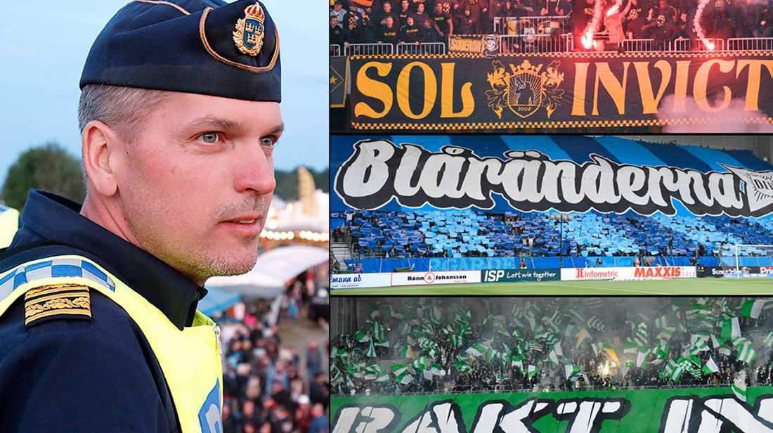 Mats Karlsson, chef för underrättelseenheten och ansvarig för idrottsrelaterad brottslighet i Syd.
