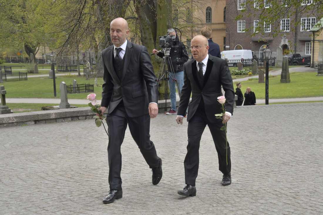 Mark Levengood och Jonas Gardell.
