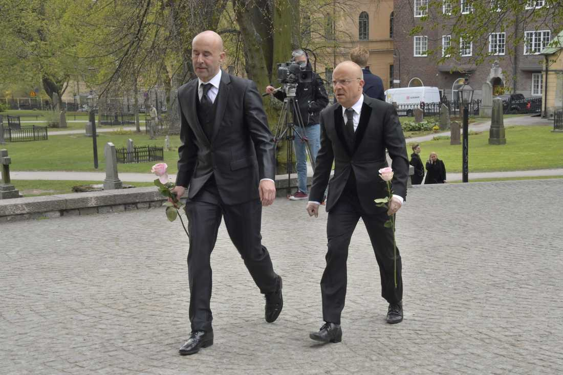 Mark Levengood och Jonas Gardell.