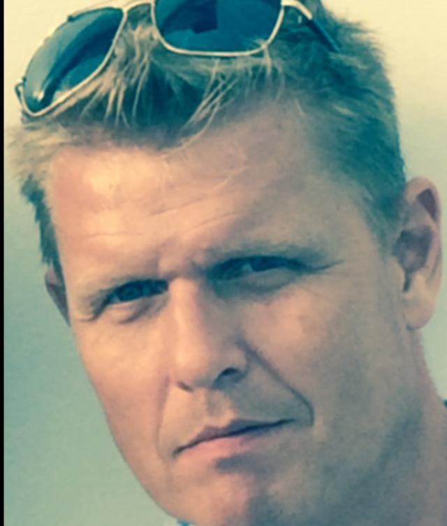 Ulf Larsson blev vittne till dödsolyckan.