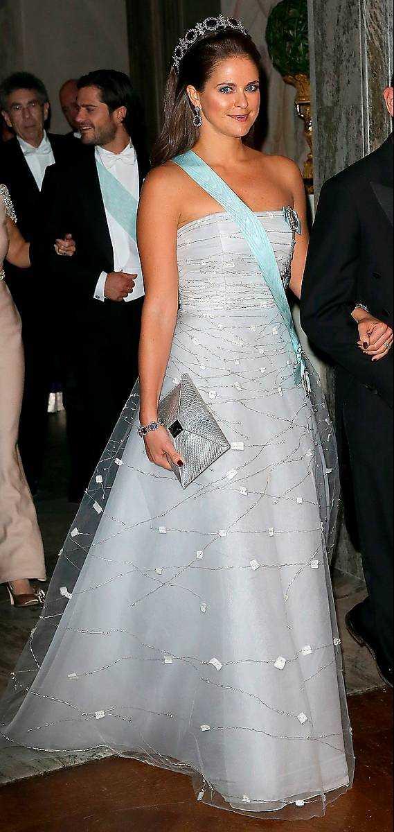 Prinsessan Madeleine var vacker i vitt