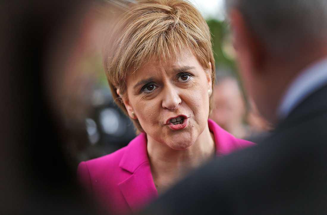 Skottlands försteminister Nicola Sturgeon.