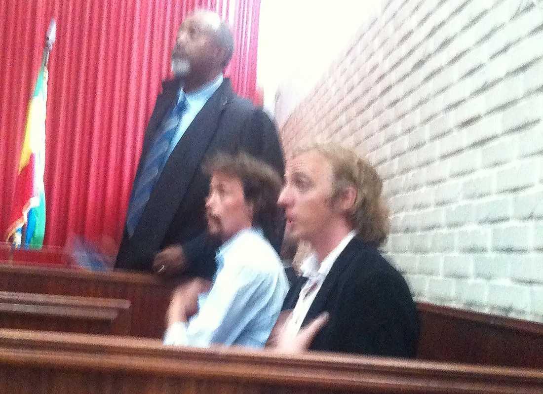 DÖMDA Johan Persson och Martin Schibbye dömdes för terrorbrott i Etiopien i förrgår.