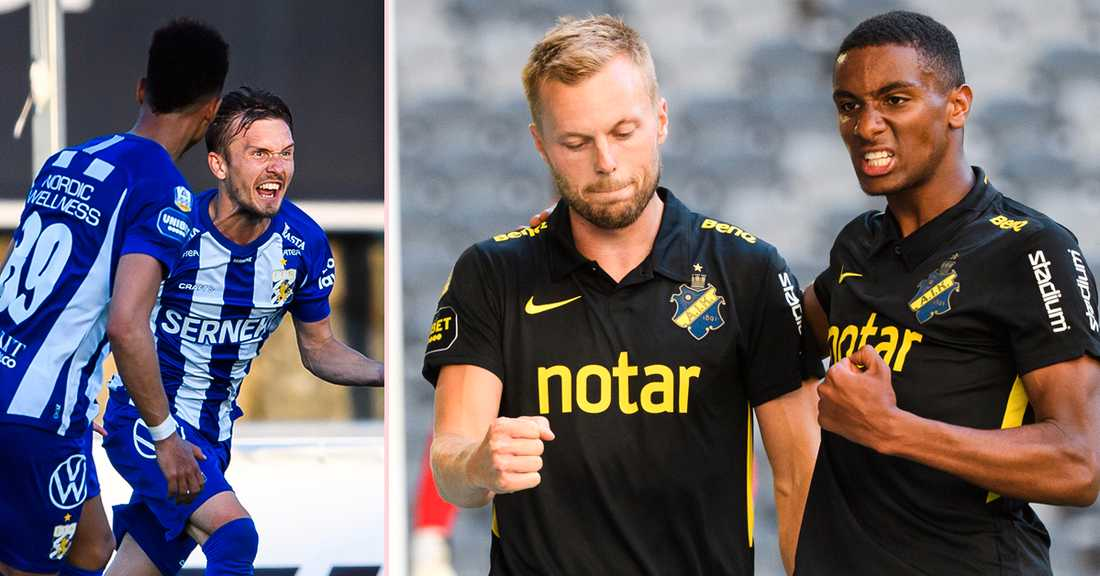IFK Göteborg-AIK - följ torsdagens allsvenska matcher