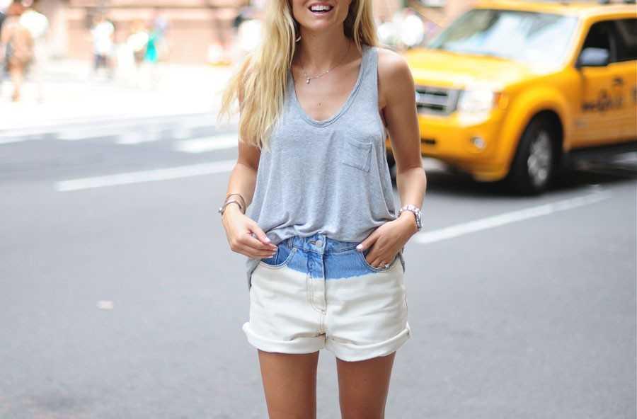 Linne Alexander Wang, Shorts - Dries Van Noten (finns liknande på Zara), Boots - Topshop.
