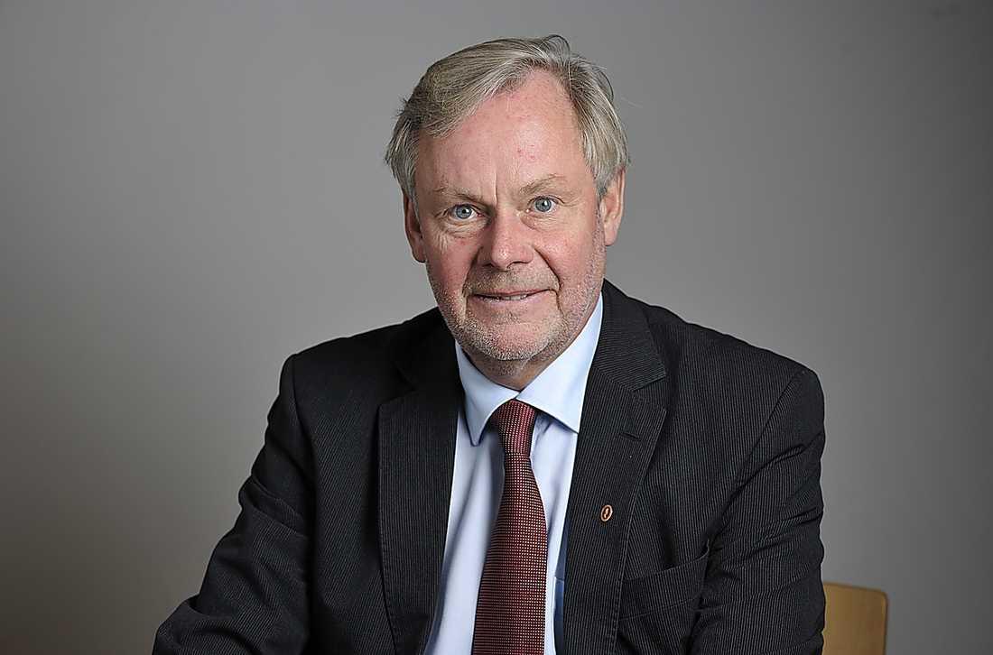 Peter Persson (S) tryckte på fel knapp.