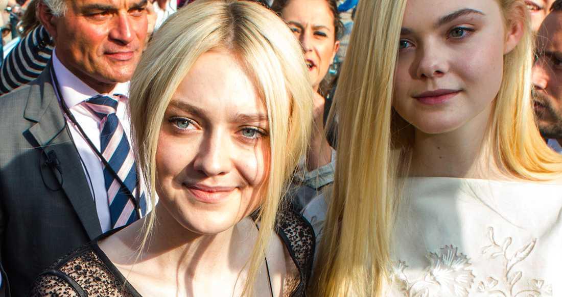 Båda Dakota Fanning och hennes lillasyster Elle Fanning jobbar i Hollywood.