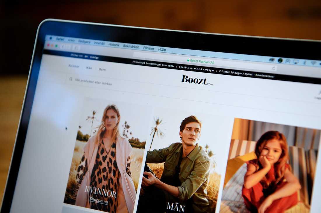 E-handelsbolaget Boozt Fashion (Boozt.com) redovisar bokslut. Arkivbild.
