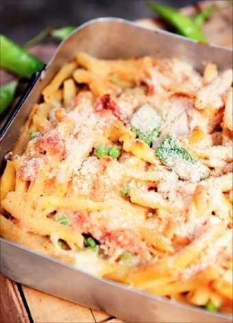 Italienskt till max Den ugnsbakade pastan är snabblagad, snygg och garanterat smaskig!