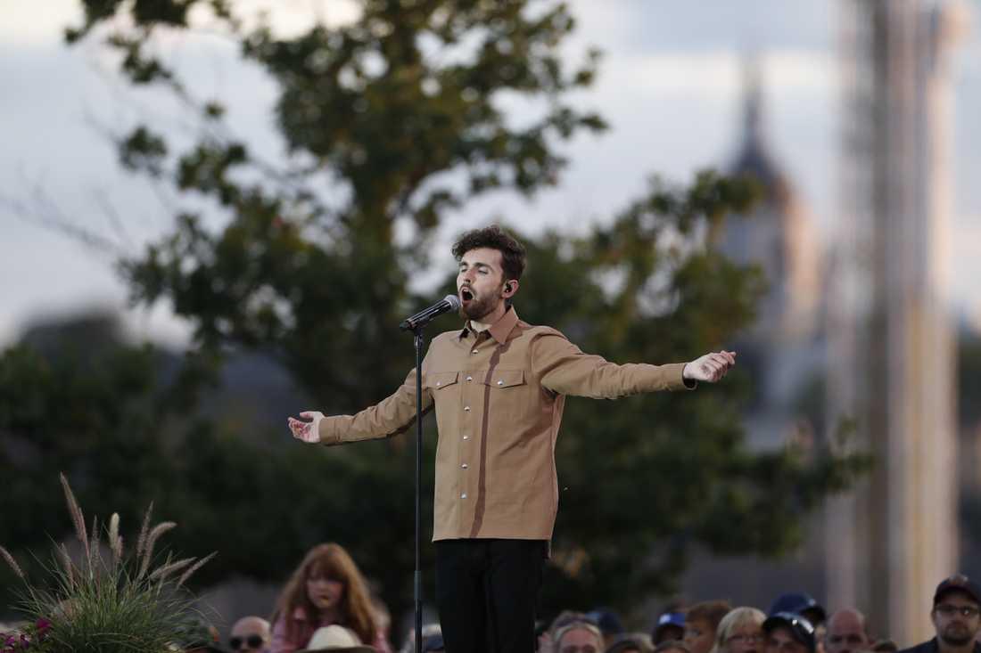 Eurovision-vinnaren Duncan Laurence.