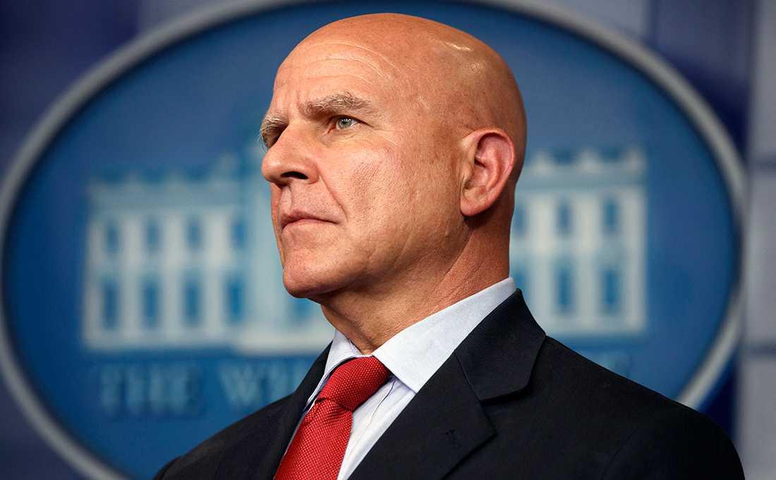 Donald Trumps säkerhetsrådgivare H.R. McMaster.