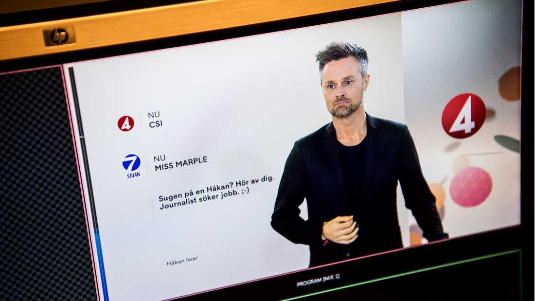Håkan Iwar, sista hallåan i svensk tv.