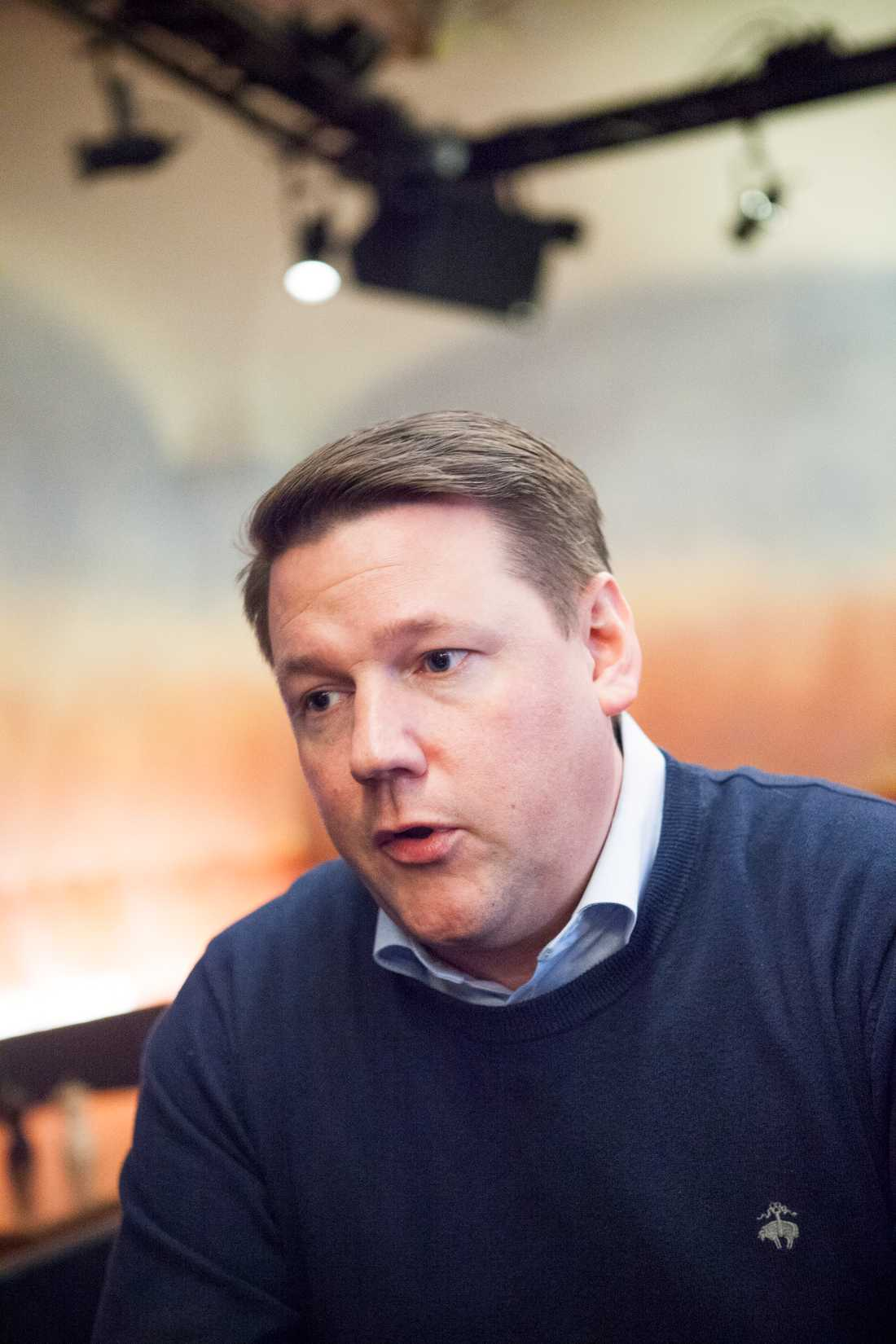 Tobias Baudin, Kommunals ordförande.