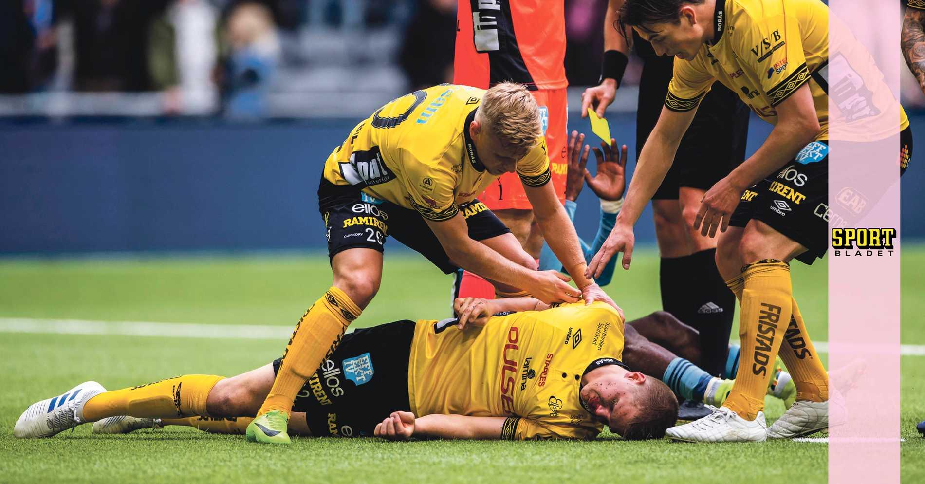Otäck skada för Joakim Nilsson i Elfsborg