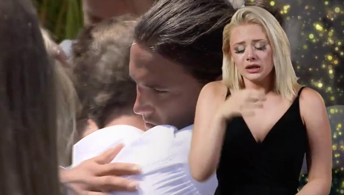 Vanessa Oskarsons tårar.