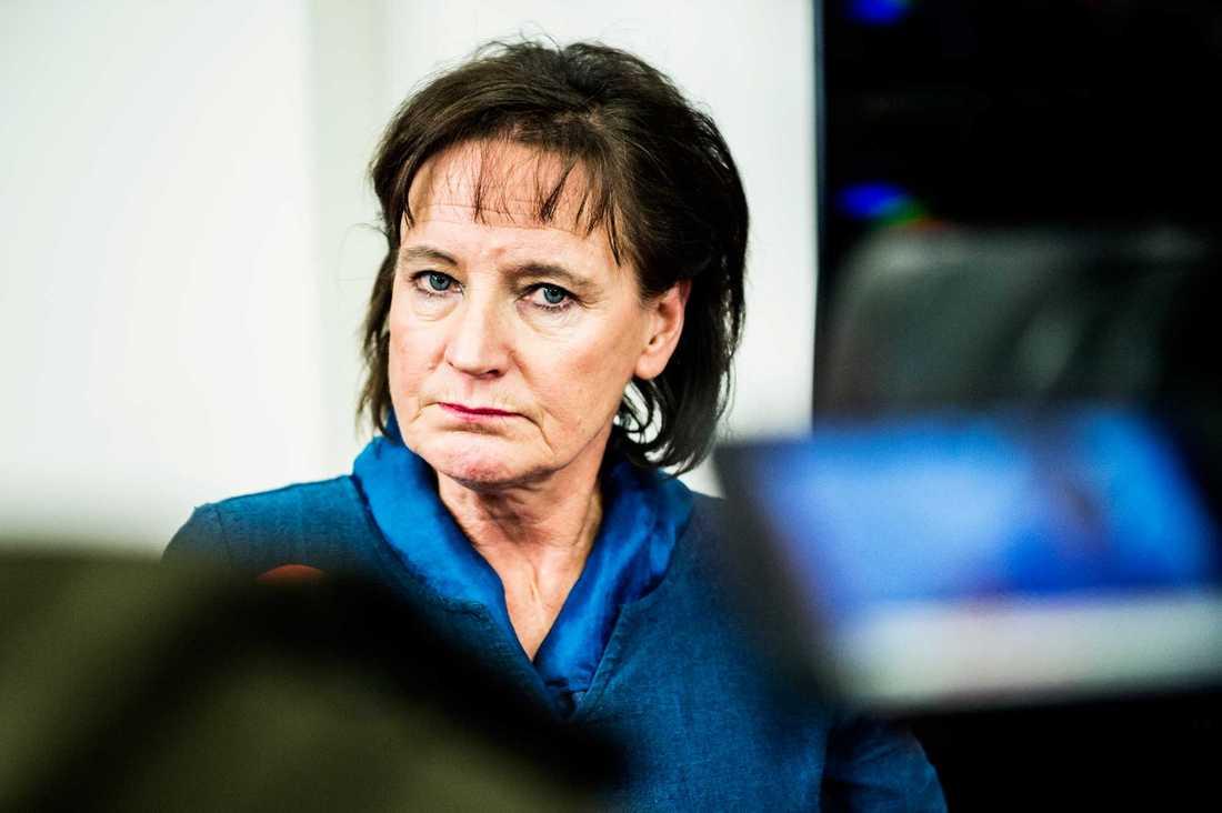 Kommunals ordförande Annelie Nordström