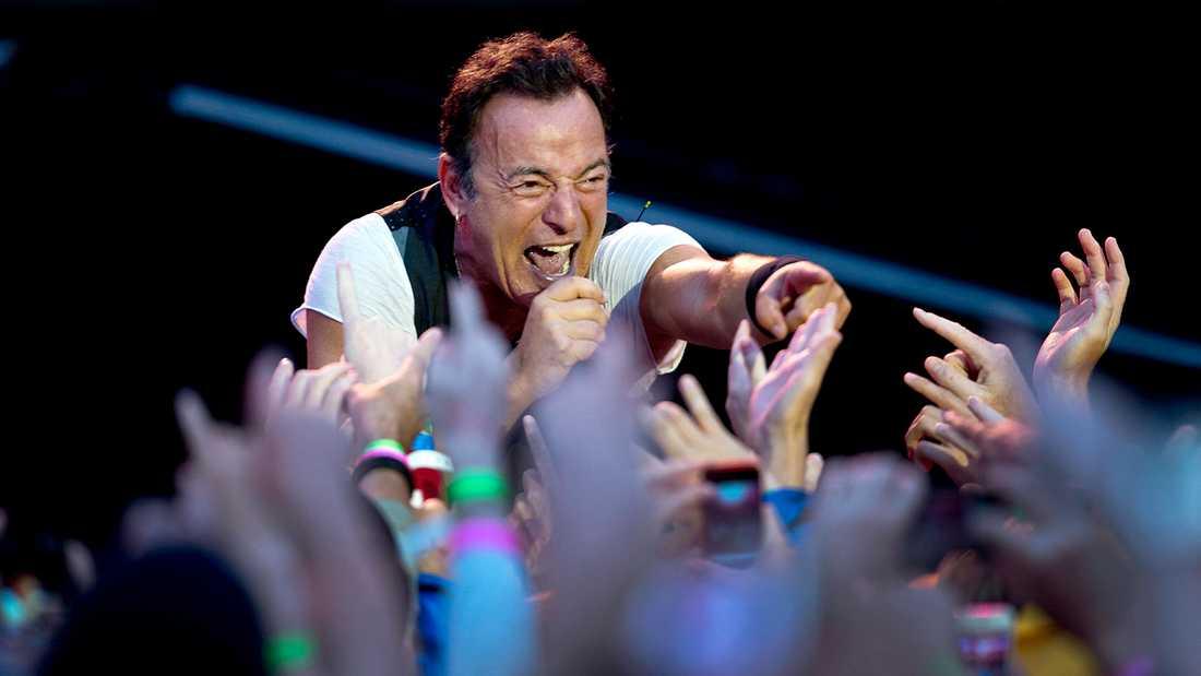 Bruce Springsteen på Ullevi 28 juli 2012.