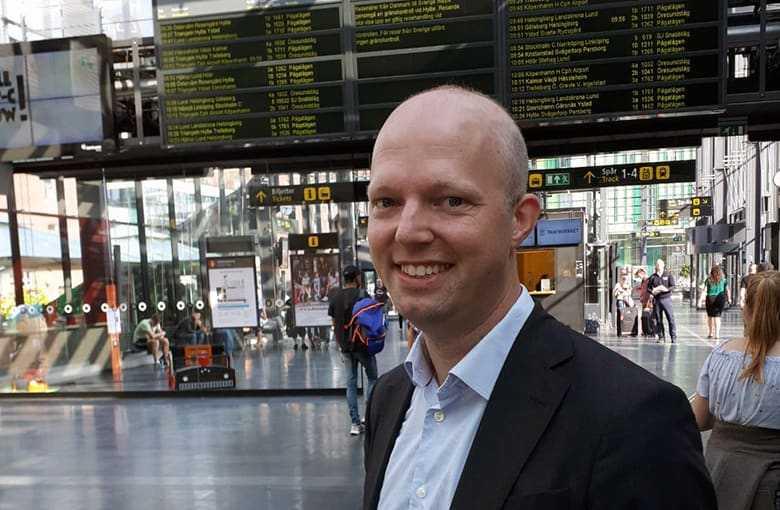 Anders Gustafsson, VD på SJ Öresund AB.