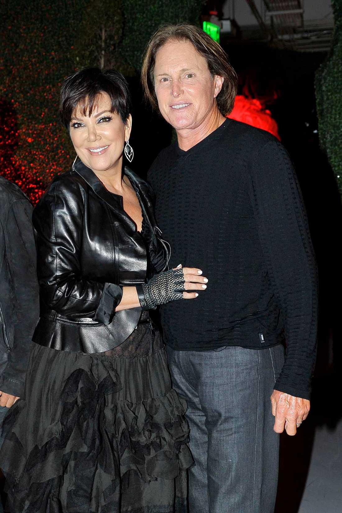 Kris och Bruce Jenner.