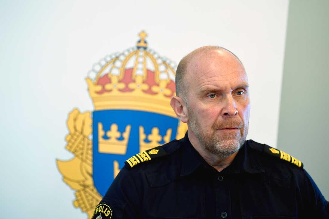 Stefan Hector, nationell kommenderingschef för Rimfrost.