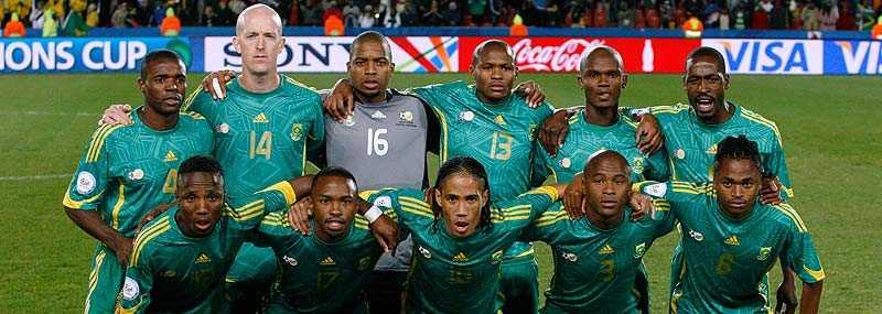 får det tufft Ett spelbolag tror inte på Sydafrika i hemma-VM.