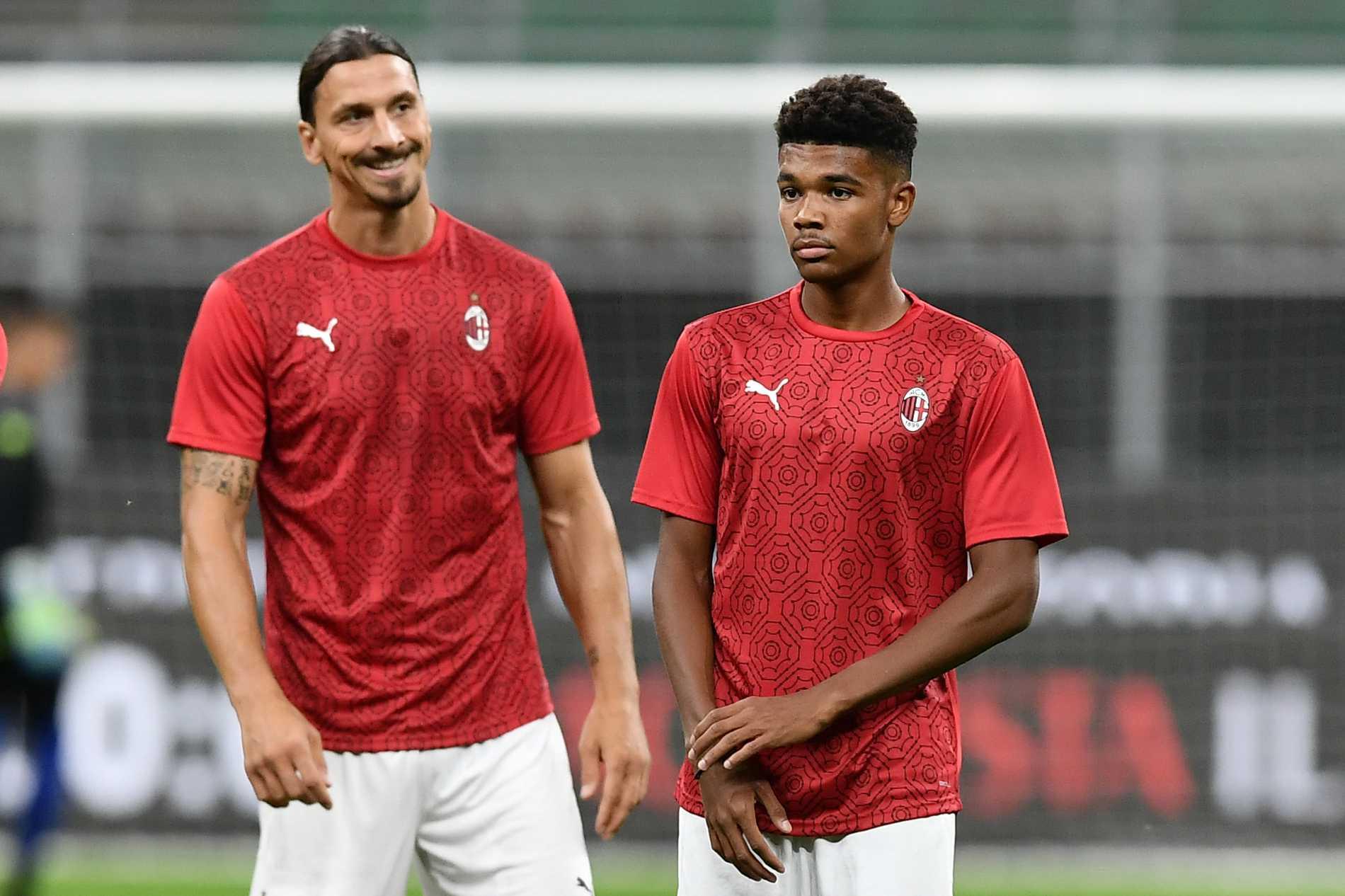 Zlatan Ibrahimovic och Emil Roback.