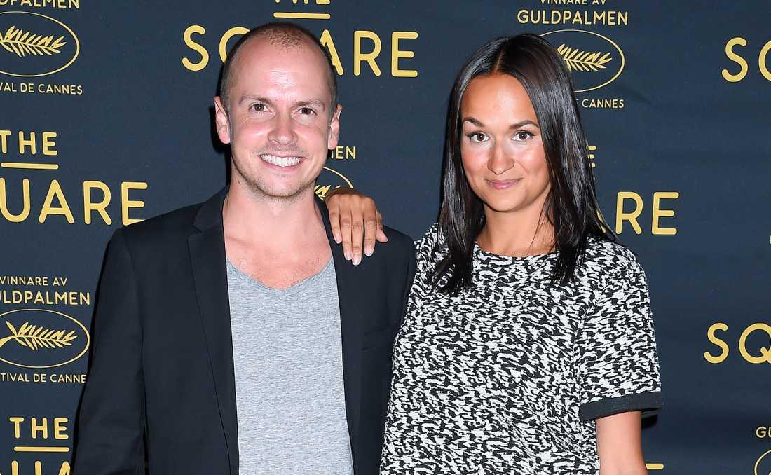 Bianca Kronlöf och Petter Oest har fått barn.