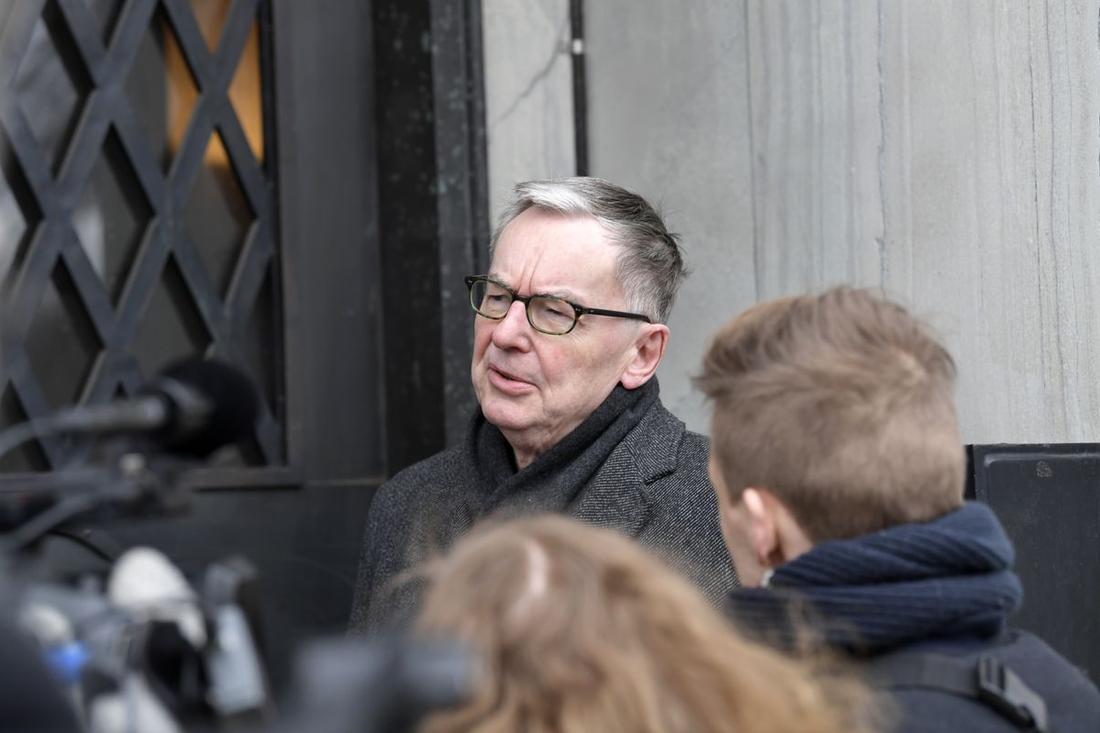 Det forne ständige sekreteraren Anders Olsson.