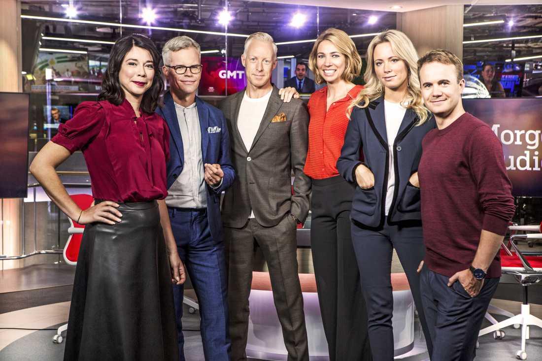 """Morgonstudion"" i SVT."