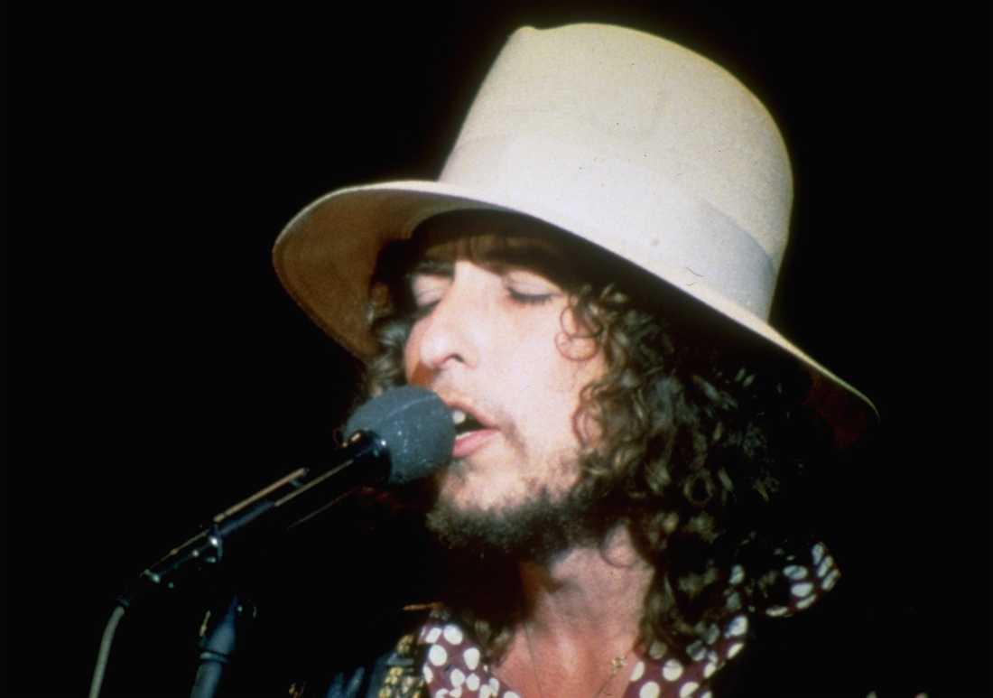 """Bob Dylan vid tiden för """"Desire""""."""