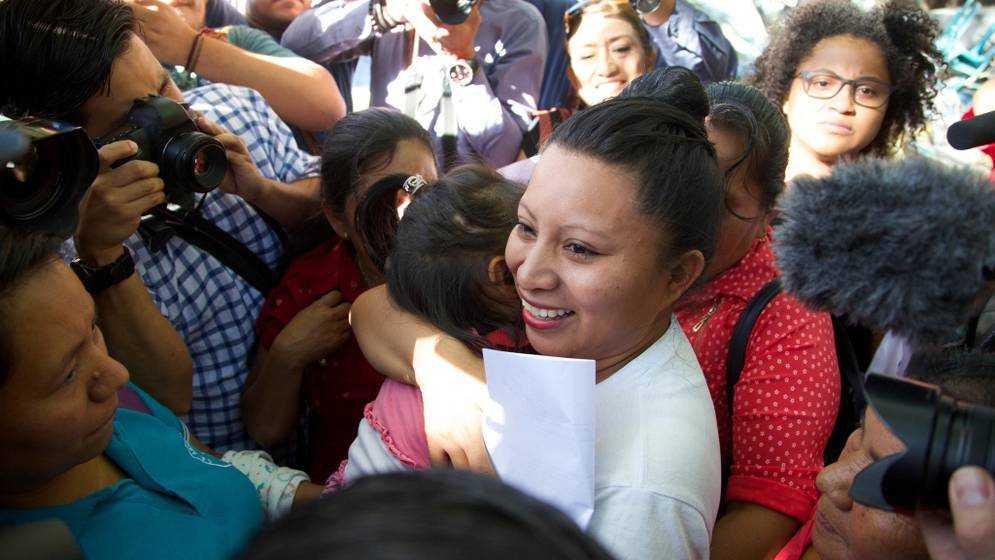 Teodora del Carmen Vásquez frigavs i år.